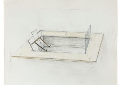 Sketch for Falsework Barrier (2016)