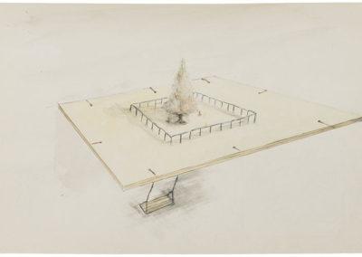 Sketch for Tree Swing II (2016)
