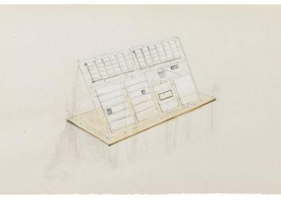 RUDI BOGAERTS 2017 DRAWING Sketch for Better Shelter