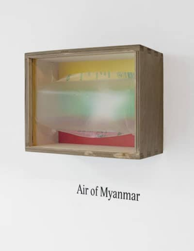 RUDI-BOGAERTS-ART-ASSEMBLAGE-AIR OF MYANMAR