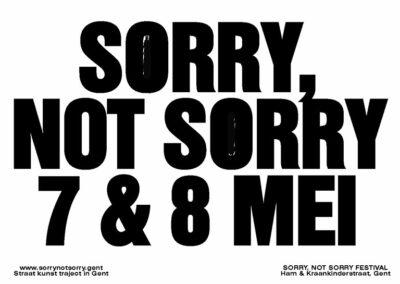 Rudi Bogaerts @ sorry not sorry