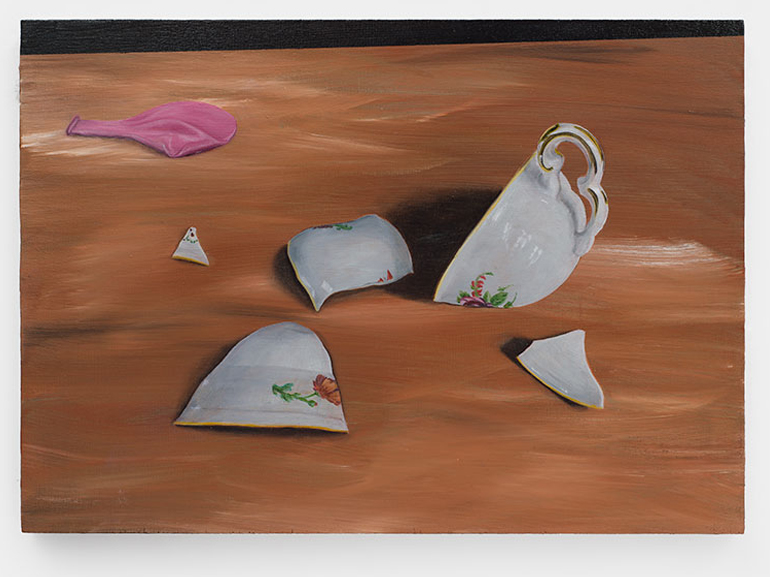 Contemporary art painting made by Rudi Bogaerts