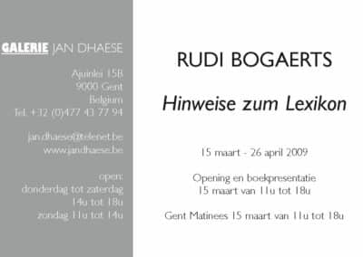 Hinweise zum Lexikon-Rudi-Bogaerts